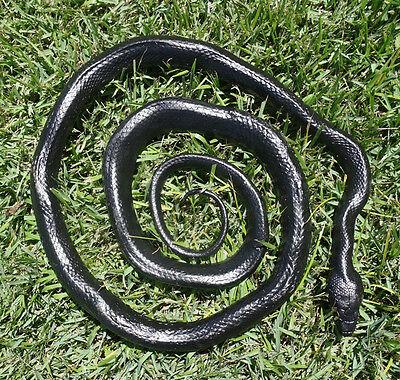 "Black Snake - 52"" Realistic Rubber Snake Replica"