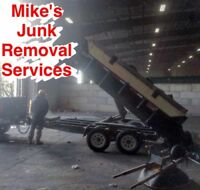 Mike's Services, Cleaning & Hauling JUNK REMOVAL 902.880.7790