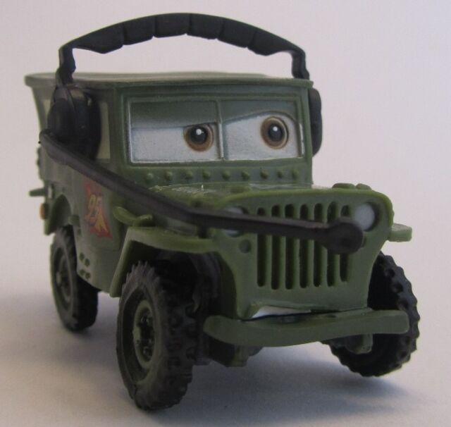 Cars 2 / Sarge / Bullyland / Sammelfigur / Disney / Pixar / Neu