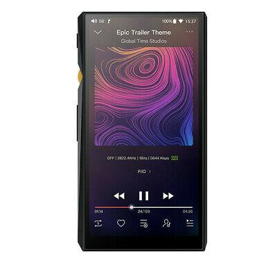FiiO M11 High Res Lossless (DSD/FLAC/WAV/MP3) Digital Audio Player & DAC - Black (Mp3-player High Res)