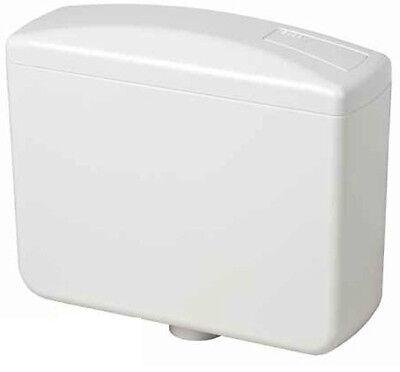 Spülkasten für WC in Weiss mit Spartaste 5-7 Liter einfache Montage + Zubehör Zubehör