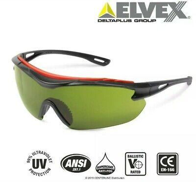 Elvex Browspecs Safety Glasses Welding Shade 3 Lensblack Frame Anti Fog Not3m