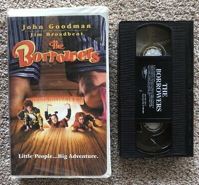 The Borrowers (VHS, 1998, Clamshell) John Goodman Jim Broadbent