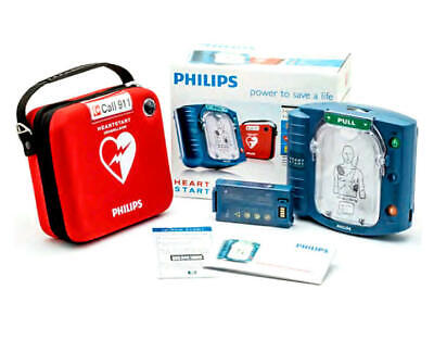 Philips Heartstart Home Aed Defibrillator With Slim Carry Case Brand New