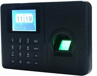 Intelligent Biometric Fingerprint Password Attendance Machine Employee Checking-