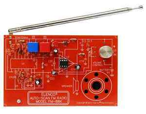 ELENCO FM-88K FM AUTO SCAN RADIO KIT soldering version - SPECIAL-FREE SHIPPING
