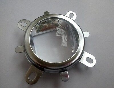 2x 50mm Lens Reflector Mount Base For 20w 30w 50w 100w High Power Led 56mmx40mm