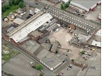 Warehouse Units to Rent on Regent Works - Longton. Various Sizes Available