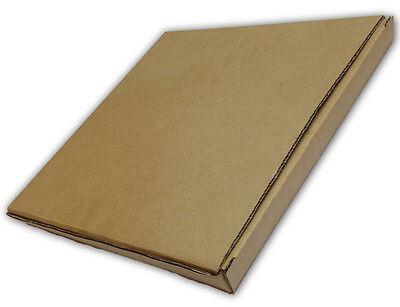 Royal Mail Pip Small Mailing Postal Parcel Size 24 X 24.5 X 2.7 Cm Cardboard Box