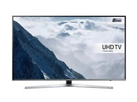 "Samsung 49"" Flat UHD 4K Smart TV UE49KU6470UXXU Crystal Colour HDR RRP £800"