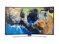 """65"""" MU6220 Curved Ultra HD certified HDR Smart TV"""