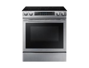Samsung Electric Slide-In Dual Convection Range (SAM58)