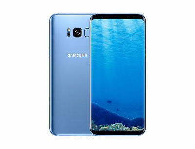 Samsung Galaxy S8+PLUS SM-G955N - 64GB - Blue Coral (Unlocked) REFURBISHED