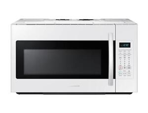 Samsung White Over-the-Range Microwave ME18H704SFW/AC (SAM79)