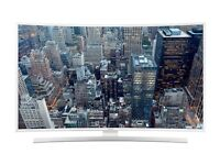 Samsung 55inch JU6610 Limited Edition White Smart Curved 4K UHD TV Superb Picture and Design