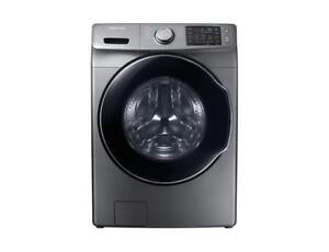 27 Samsung Front Load Washer (Platinum) (SM57)