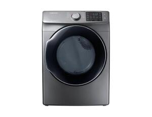 Samsung Frontload Electric Dryer with Steam, 7.5 cu.ft DVE45M5500P (SAM147)
