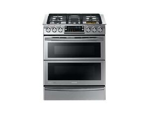 Samsung Gas Range with Dual Fuel Technology NY58J9850WS (SAM73)