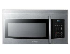 Samsung Over the Range Microwave, 30 Stainless Steel  (SM23)