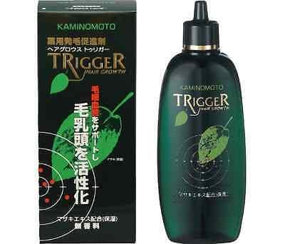New KAMINOMOTO Medicated Hair Growth Trigger 180ml Unscented Hair Tonic Japan