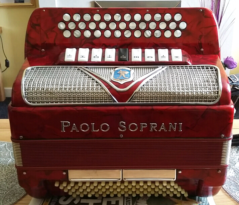 3 Row BCC# Accordion, Paolo Soprani Blue badge Accordion | in Newmains,  North Lanarkshire | Gumtree