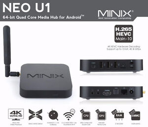 MINIX U1 and X6 Android box loaded with KODI + Wireless Keyboard