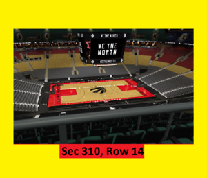 #=Raptors v Cleveland Cavaliers Tickets. Jan-11. Balcony Sides=#
