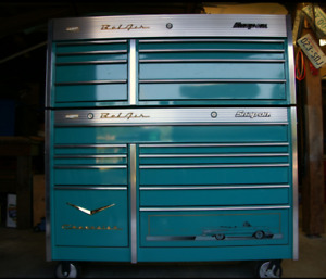 Snap on Chevy Belair collectors tool box.