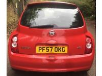 2007 NISSAN MICRA 1.5 ACENTA PLUS DCI 3DR+8 MONTH MOT+FULL SERVICE HISTORY+1 ...
