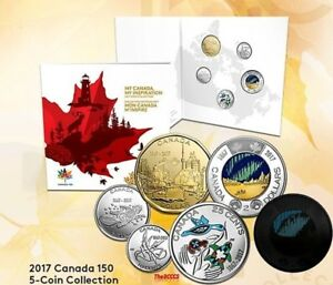 2017 My Canada, My Inspiration Uncirculated 5 Coin Set