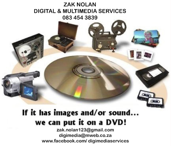 Transfers of Video / Audio / Slides / Negatives