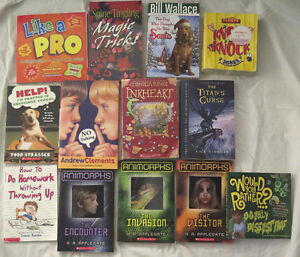 Lot of 20 Books - Junior High Aged Reading