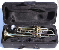 Brand new Trumpet with silver-plated mouthpiece & warranty