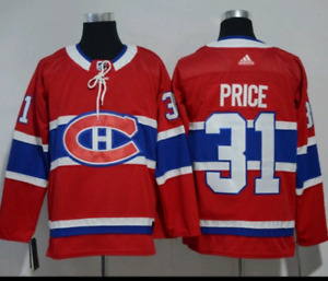 Carey Price Montreal Canadians #31 Home Jersey Large With Tags