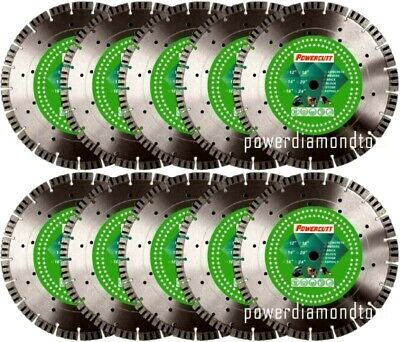 10-14 16mm Turbo Seg Paverconcretegranitestonebrickblock Diamond Blade-best