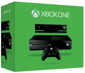 500 gb Xbox one with kinect plus new call of duty