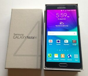 Samsung Galaxy Note 4 UNLOCKED In Box with Accessories $370