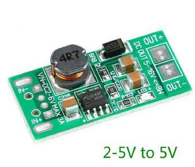 5pcs Dc-dc Usb Input Voltage Regulator Converter 3.2v 3.7v 4.2v To 5v Step Up