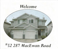 Duplex in MACEWAN, SW,  AVAILABLE NOW !    MUST SEE !