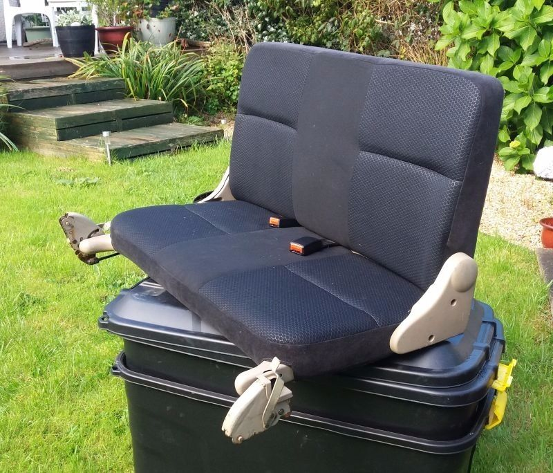 Rear Seat Suitable For Van Conversion Good Condition South East Cornwall