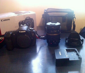 Canon EOS 60D with Lens 17-50mm F/2.8 + Accessoires