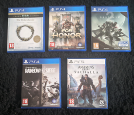 Assassins Creed Valhalla PS5 - Includes Free PS5 Upgrade Games