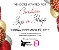 VENDORS WANTED FOR CHRISTMAS BAZAAR
