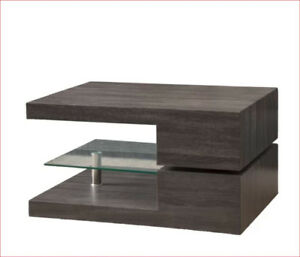 Brand new, unused coffee table with MODERN design