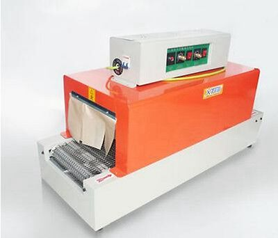 Thermal Heat Shrink Packaging Machine Tunnels For Pp Pof Pvc
