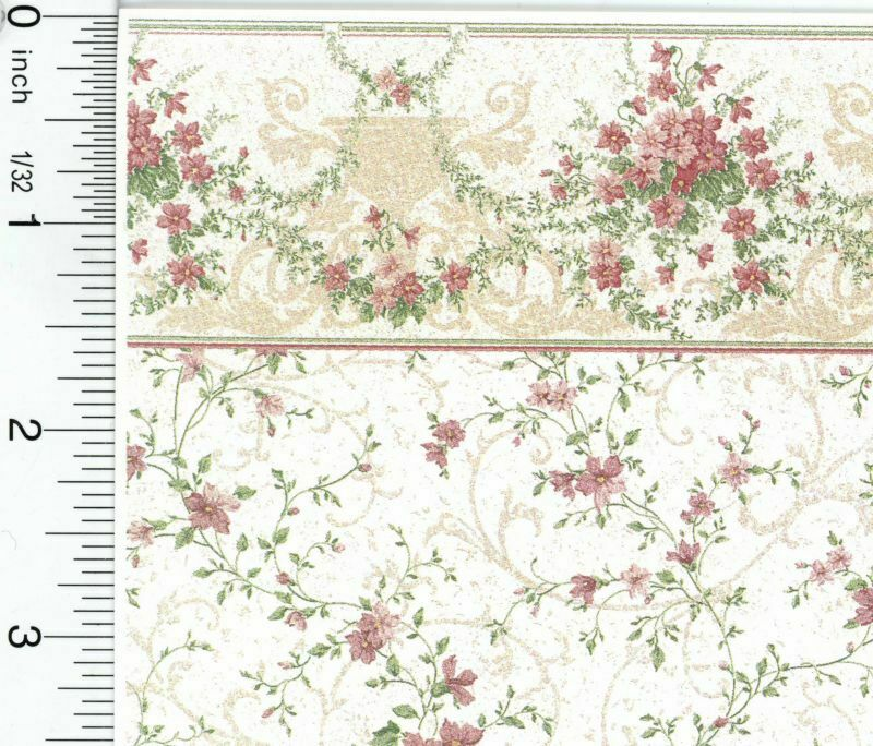 Dollhouse Wallpaper Sonata Pink