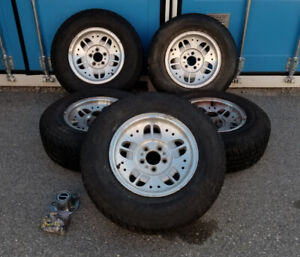 """Ford 15"""" Wheels and Cooper Tires"""