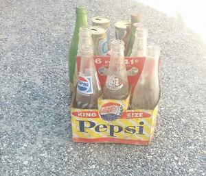 Ensemble de bouteilles et Cannettes antiques à vendre ..