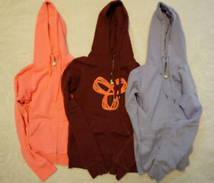 Set of 3 Womens TNA Hoodies - Size Extra-Small
