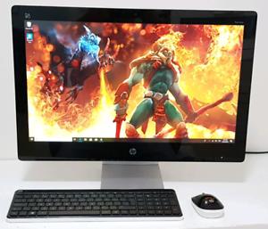 "HP AIO 23"" TouchScreen Quad-core i5 8Gb Ram 1Tb Hd 2Gb Graphics"